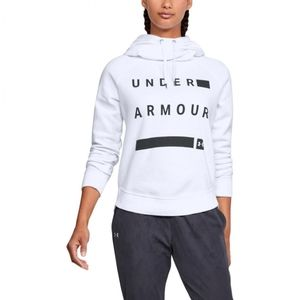XL Under Armour White Loose Fit Hoodie